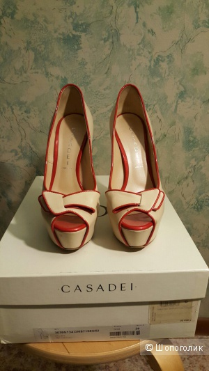 Туфли на высоких каблуках Casadei