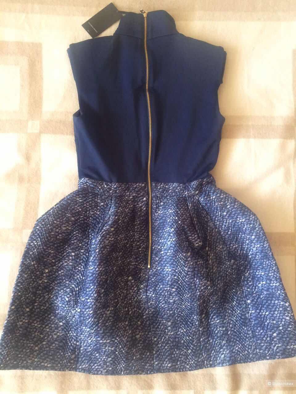 Платье Elisabetta Franchi AB5163965, цвет Чернила, Размер 42it