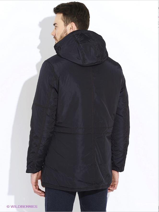 Новая зимняя куртка Alfred Muller, тёмно-синяя, р. L