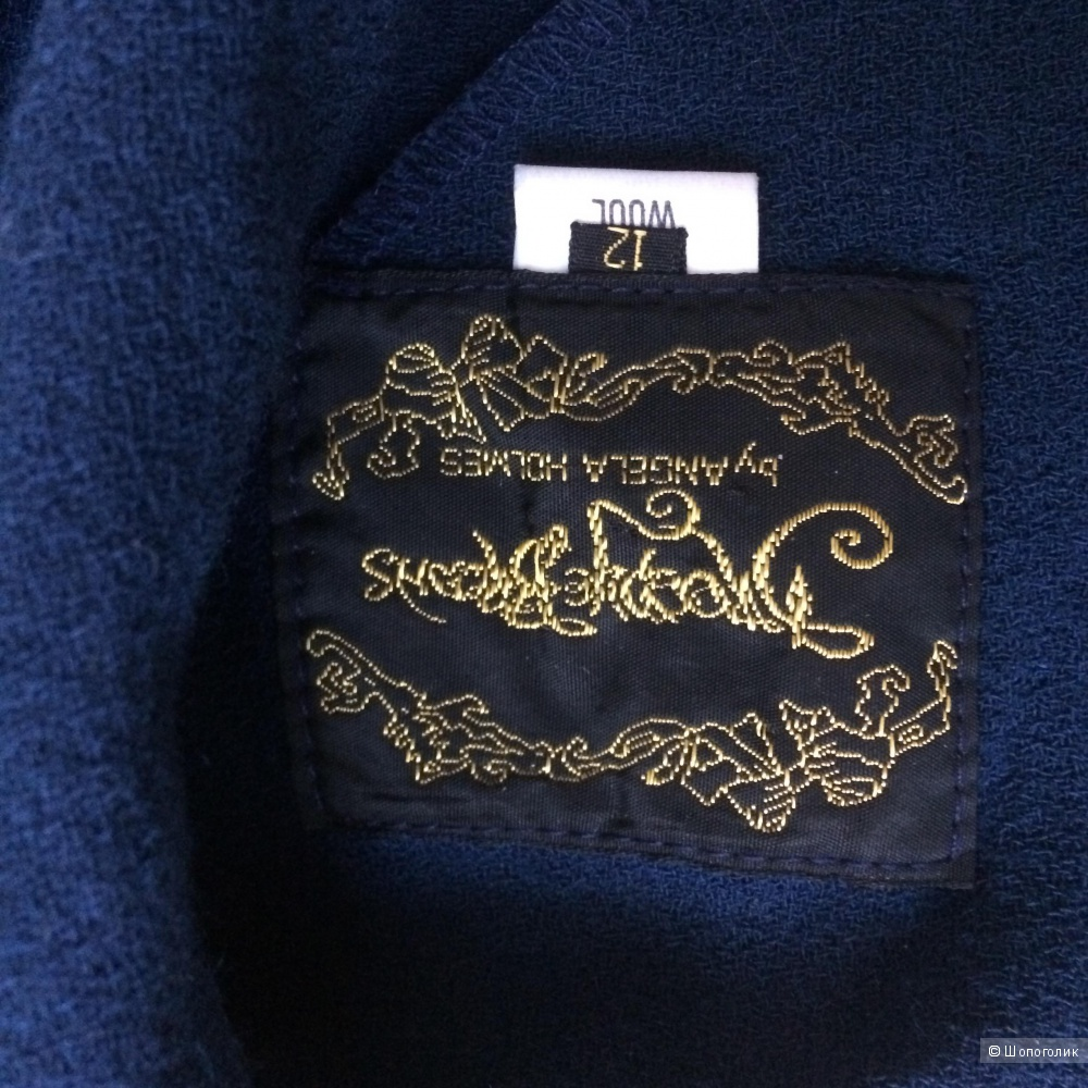 Винтажное платье DROOPY & BROWNS BY ANGELA HOLMES
