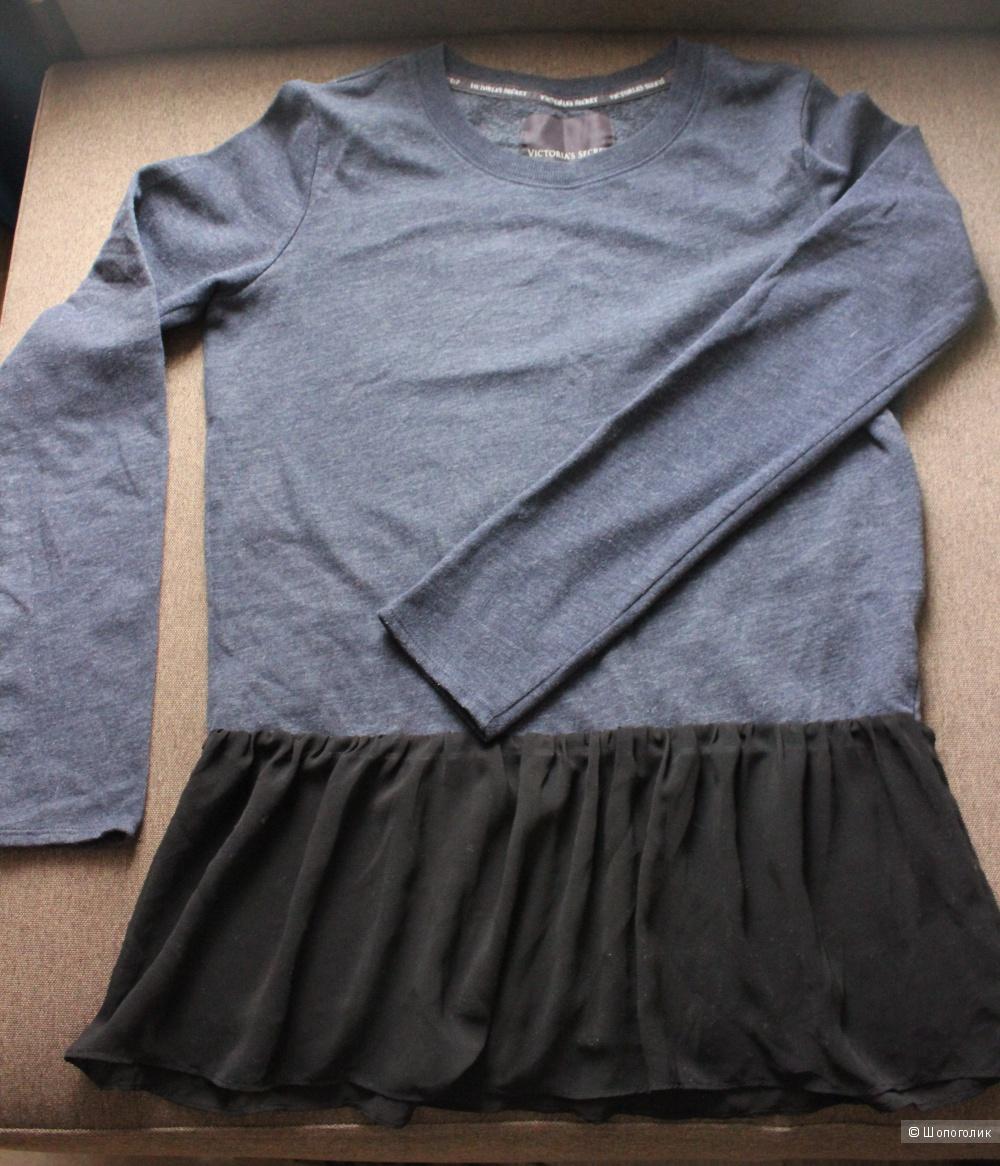 Fleece Peplum Tunic Victorias secret