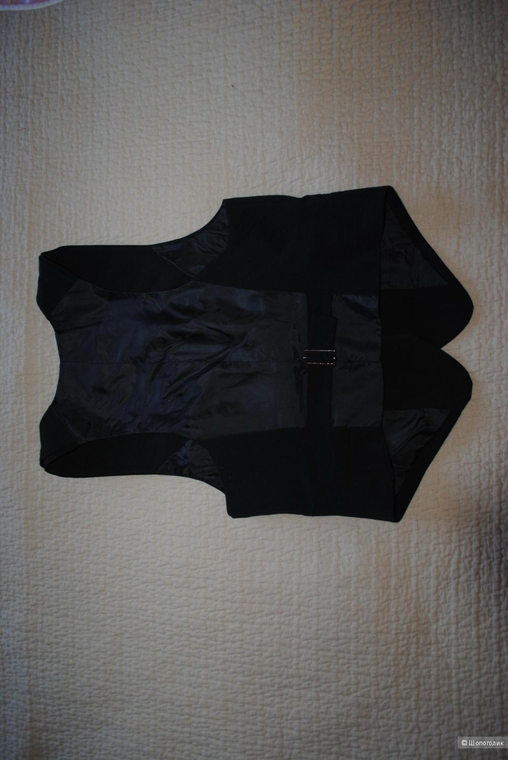 Жилет Y.O.U. черный новый оригинал 46 размера