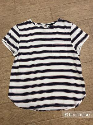 Летняя блузка H&M р.38 (на росс.44-46)