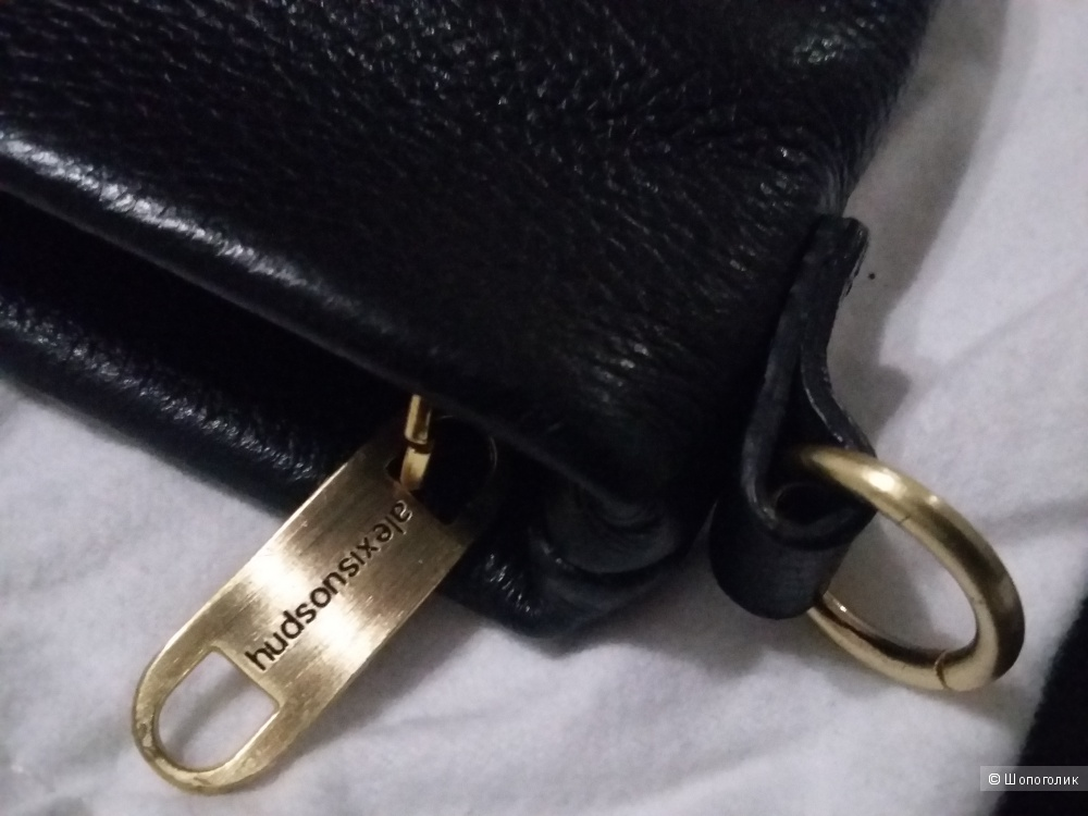 Кожаная сумочка-клатч Alexis Hudson