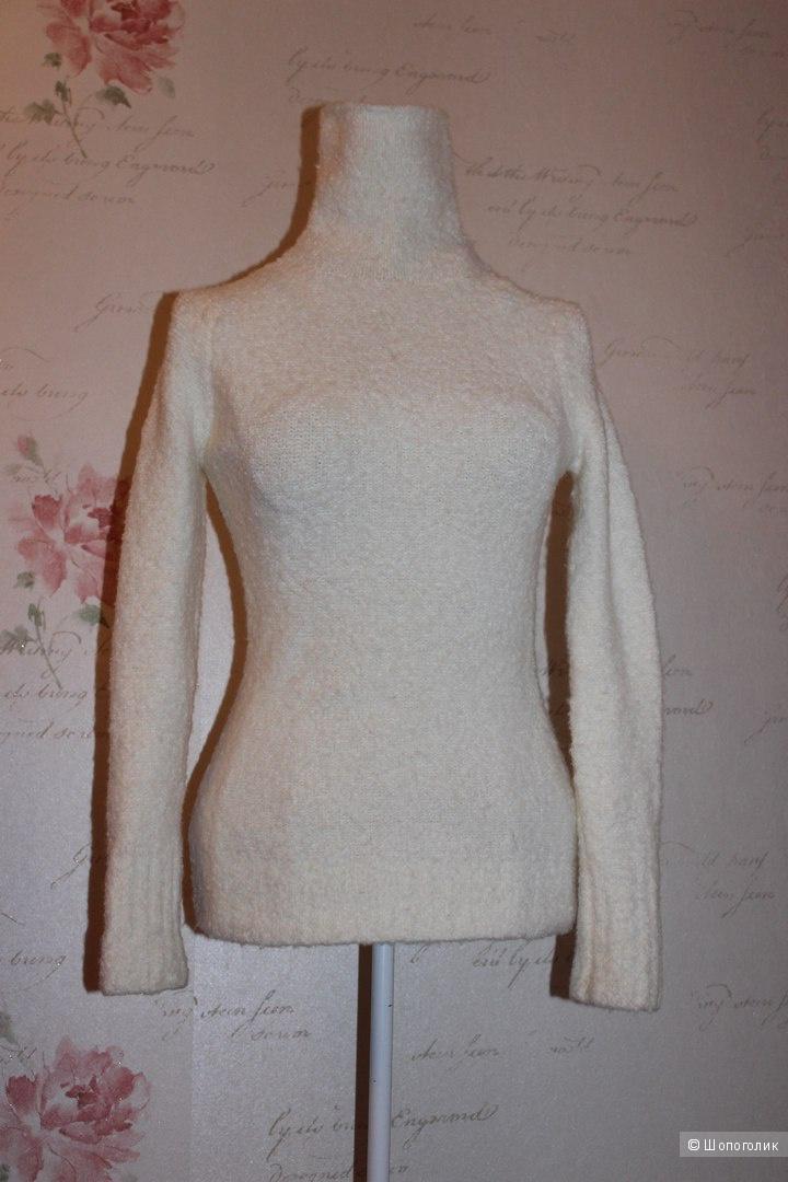 Свитер-водолазка Victoria's Secret оригинал, размер XS (подойдет и на S),цвет белый