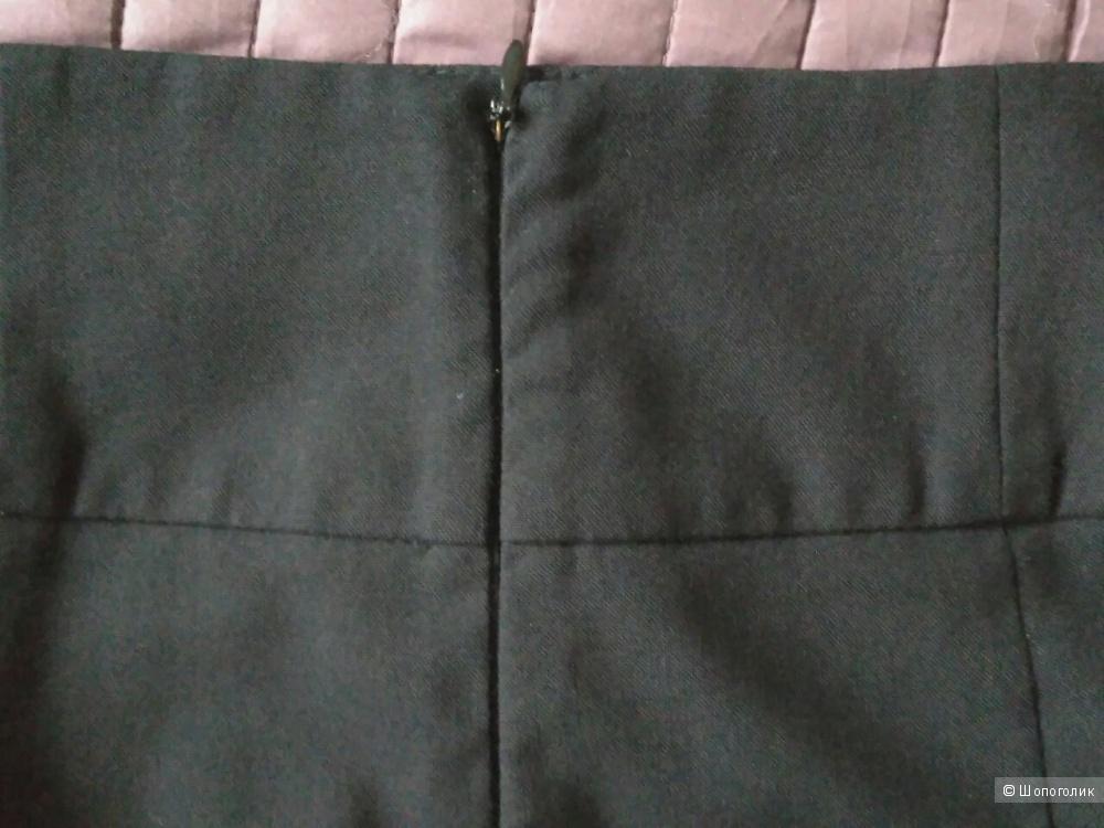 Zara серая юбка