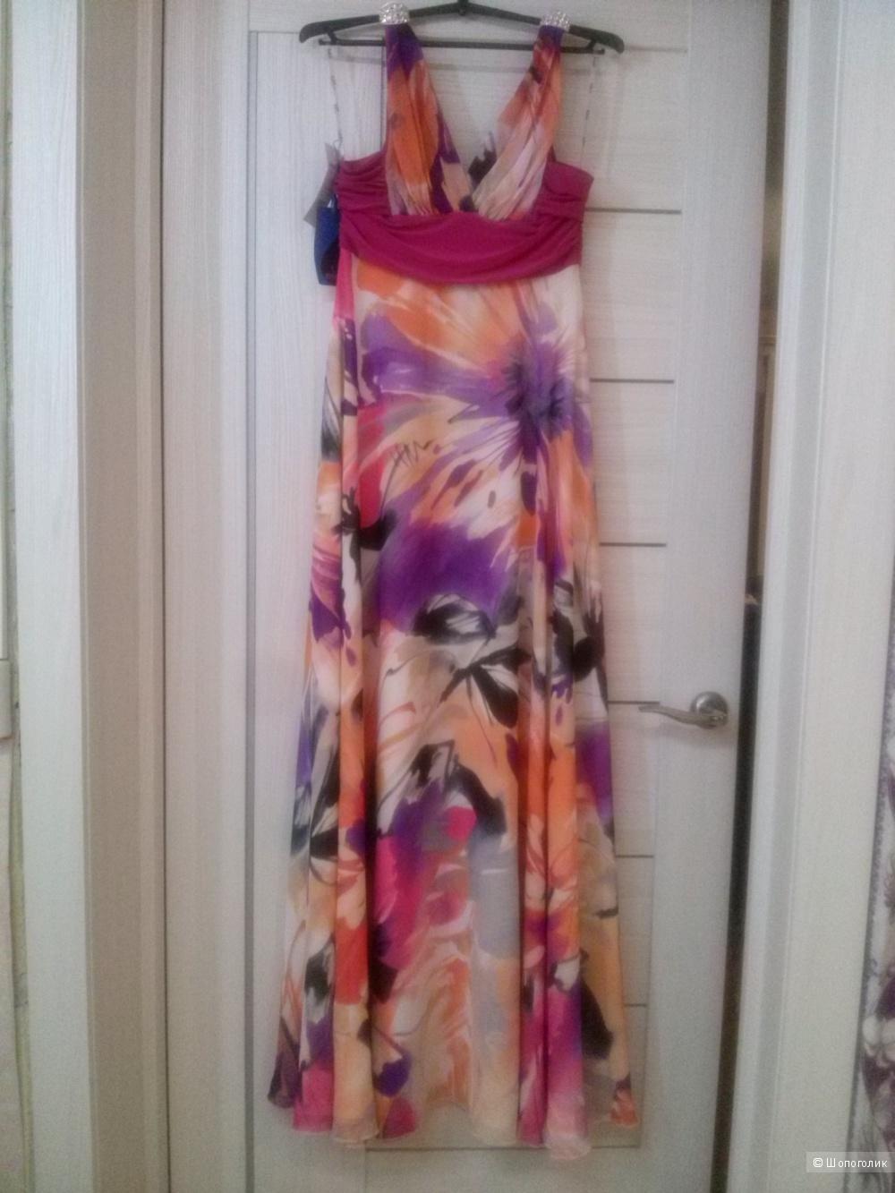 Дизайнерское платье на 44-46 р-р.