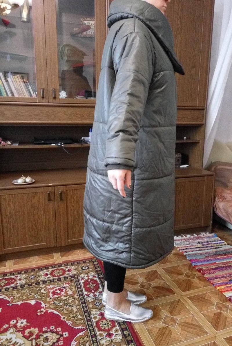 Продам дутое пальто oversize