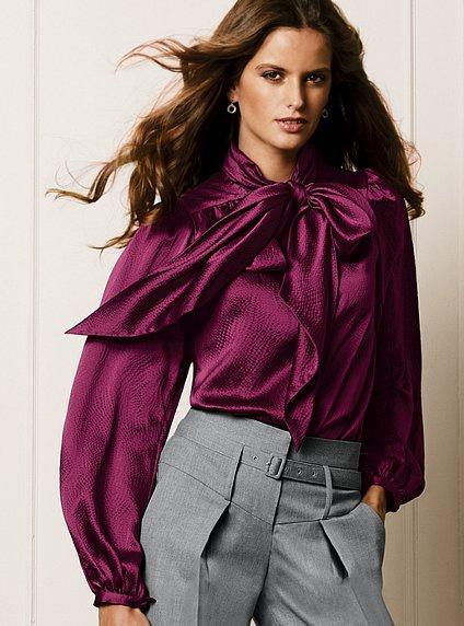 Шелковая блуза от Victoria's Secret. XS.