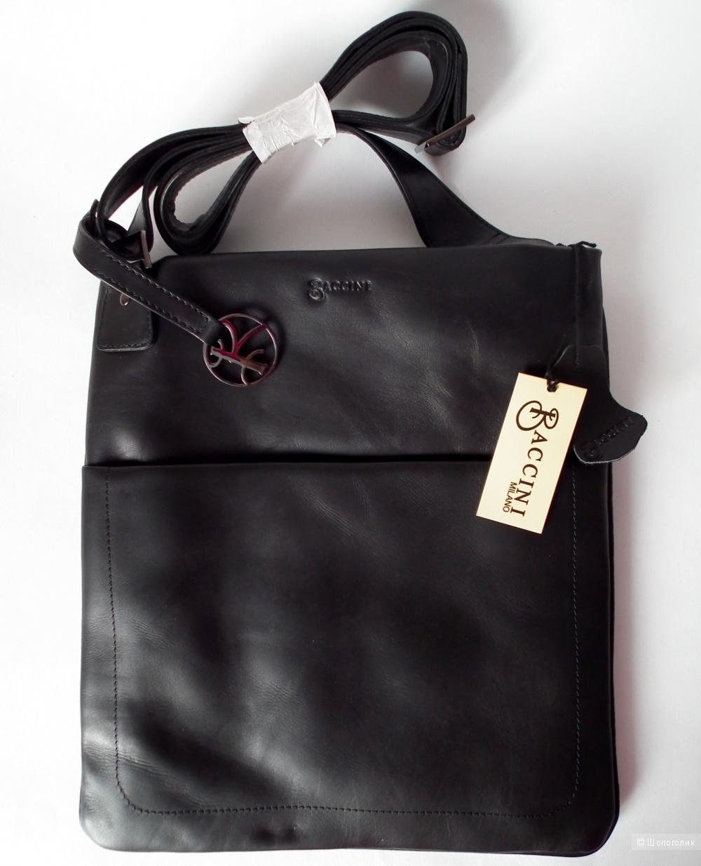 Итальянская мужская сумка BACCINI