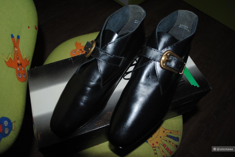 Ботинки Osbornia новые черные оригинал 38-39 размера