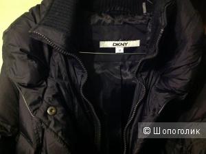 Темно-синий пуховик DKNY размер М новый
