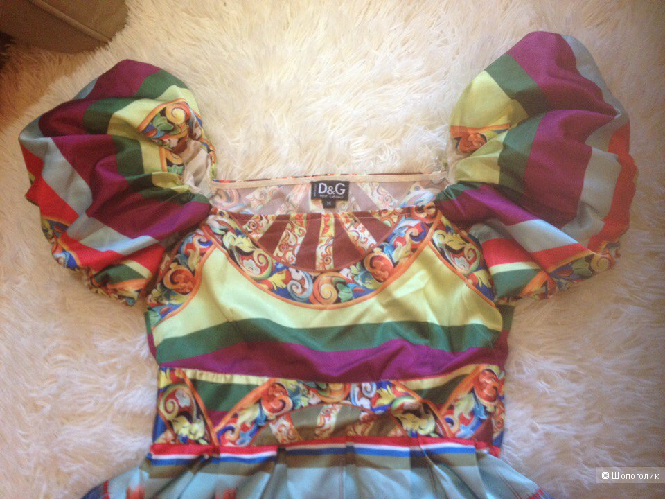 Популярная реплика платья Дольче Габбана с Тао
