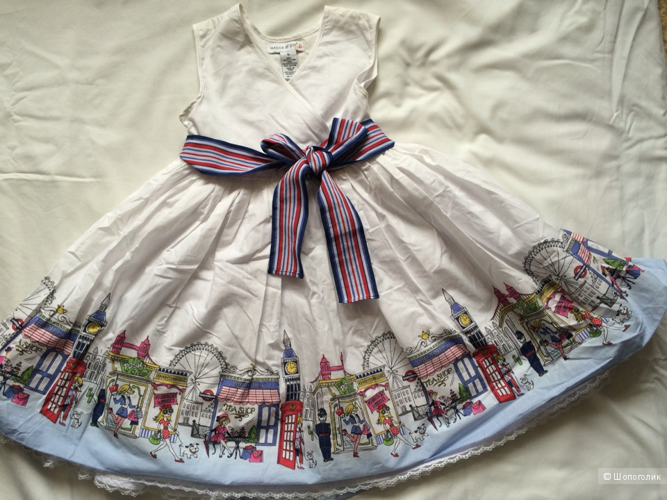 Платье для девочки праздничное, нарядное, на 5 лет