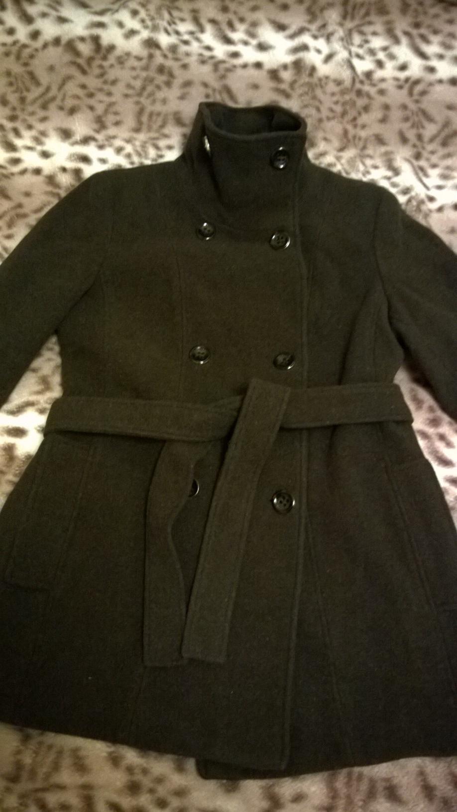 Новое темно-коричневое пальто Calvin Klein