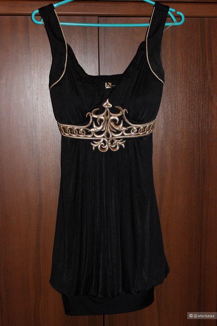 Коктейльное вечернее платье Alchera,Турция,размер 38 (подходит на XS-S)