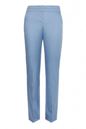 Классные дизайнерские брюки из хлопка Charuel цвета капучино размер 50 новые