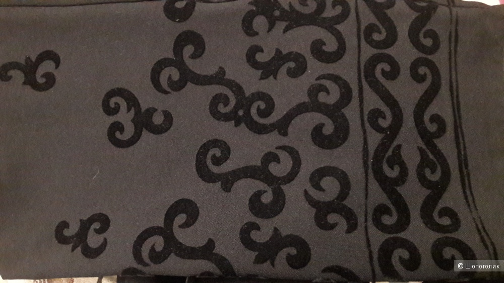 Sadimo, 38: прямые классические брюки с бархатом