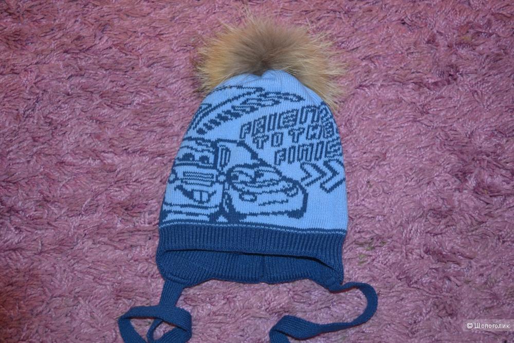 Новая шапка для мальчика Mialt р.50-52