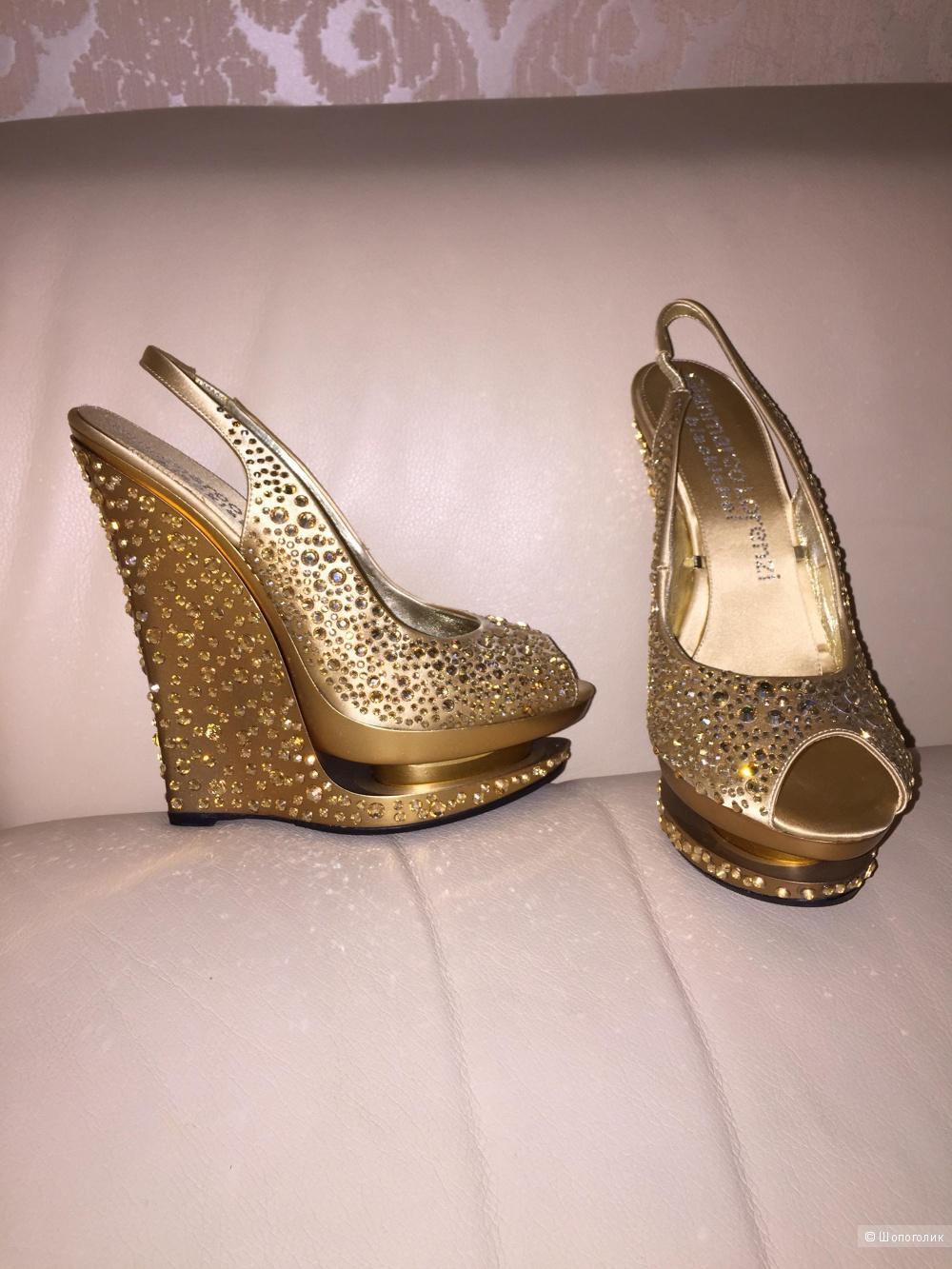 Продам новые туфли Gianmarco Lorenzi