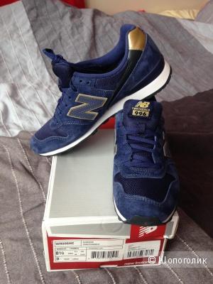 New Balance, синие кроссы на 39 размер
