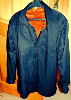Продам рубашку на толстом флисе на 46-48 рост 168-172