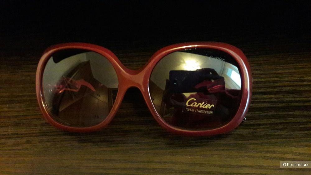 Солнцезащитные очки Cartier реплика,новые