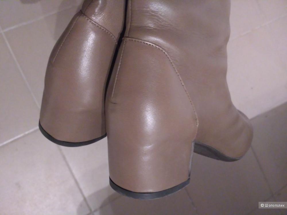 Новые кожаные сапоги Nando Muzi, еврозима