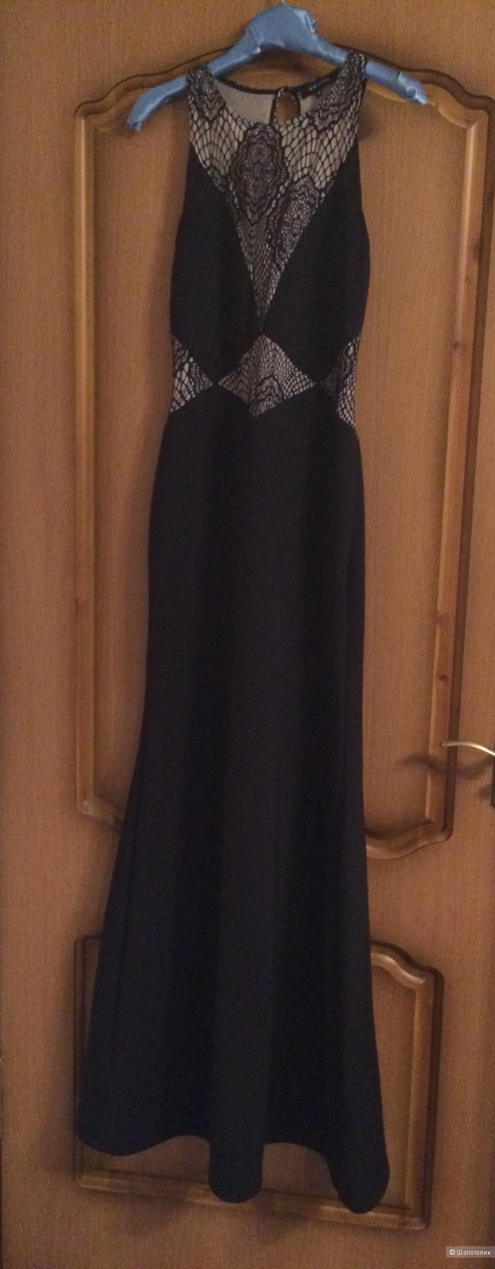 Платье макси с кружевными вставками New Look 42