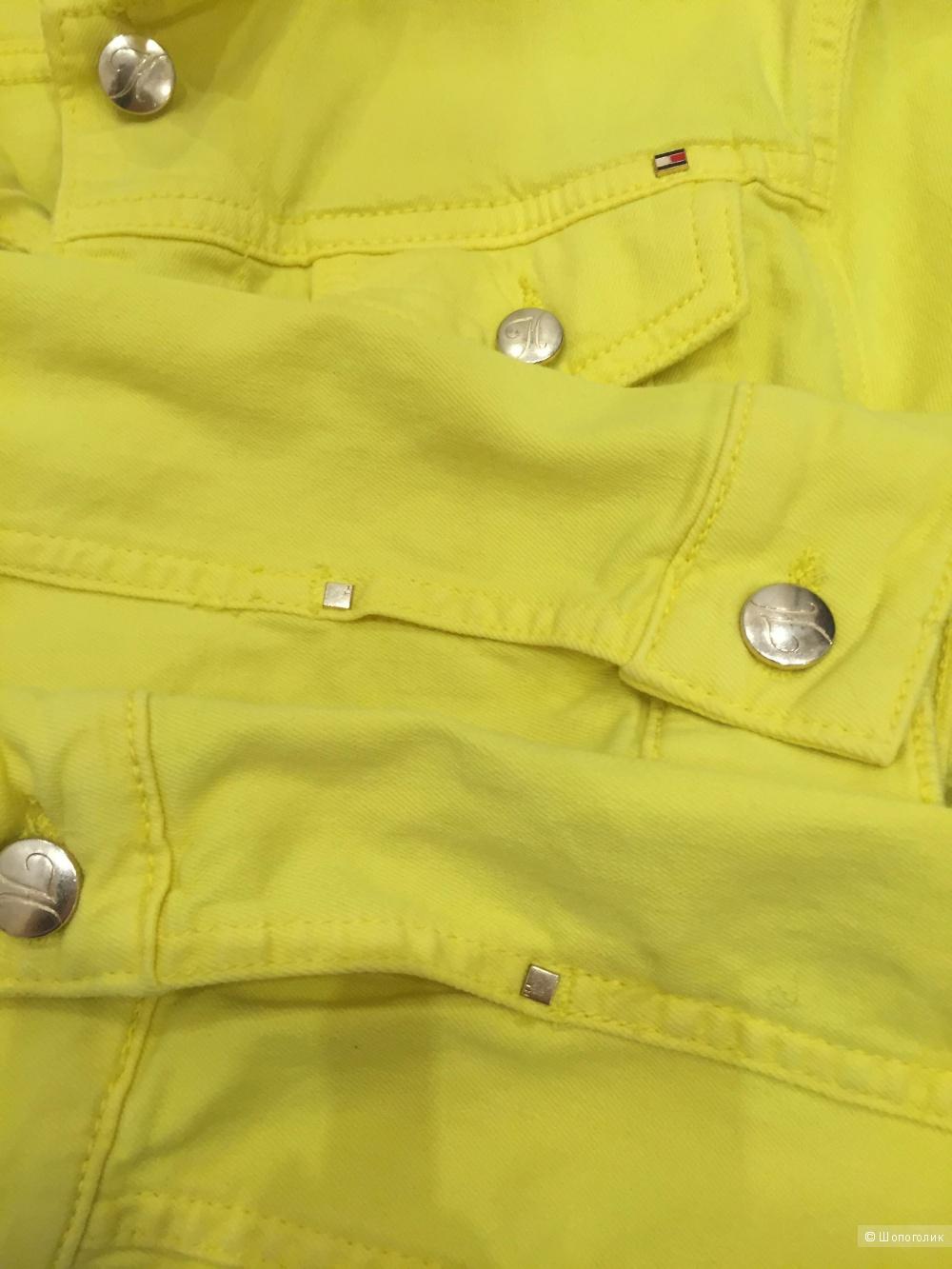 Джинсовая куртка Tommy Hilfiger новая размер 4