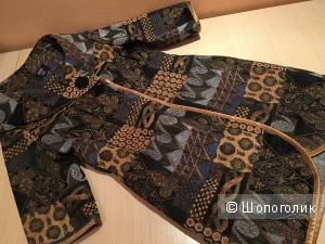 Легкое гобеленовое пальто ANNA SUI (копия)