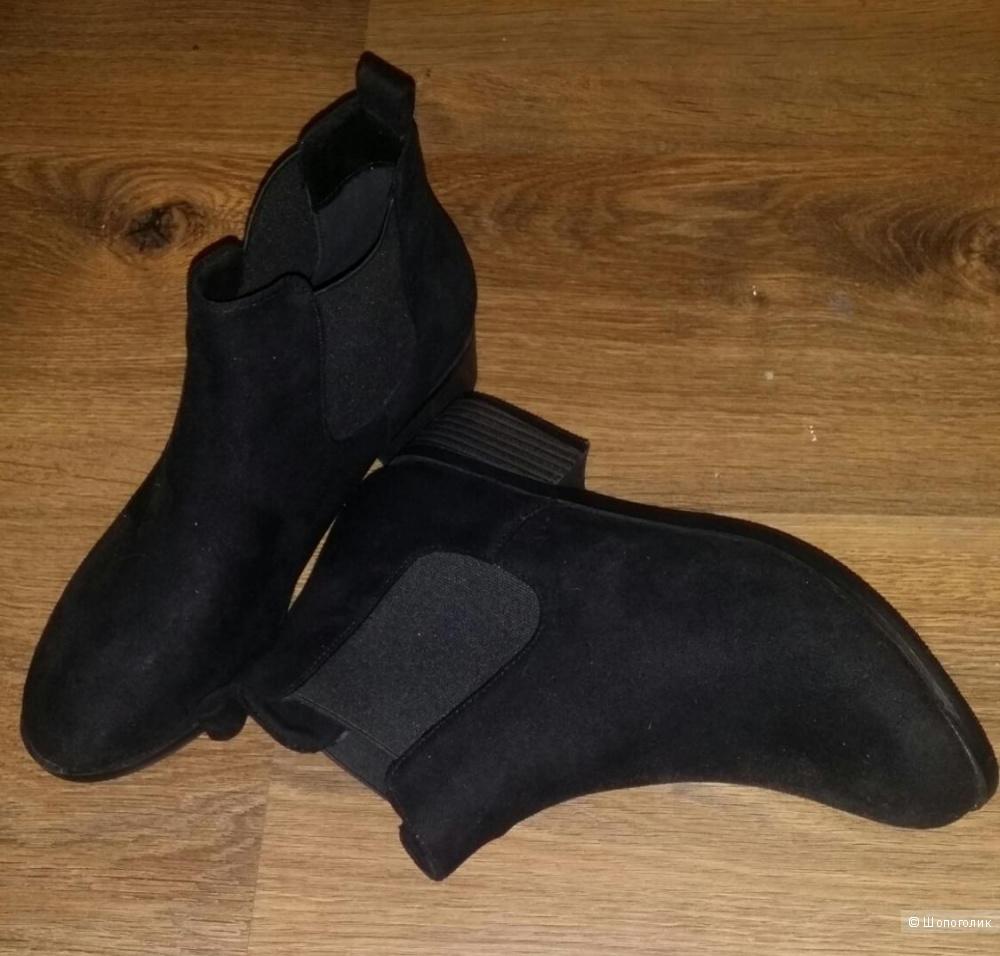 Ботинки Boohoo замшевые 39 Новые Пересыл