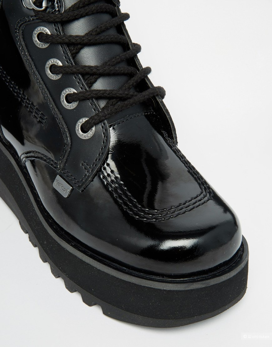 Ботинки на платформе Kickers Werk 41-42р