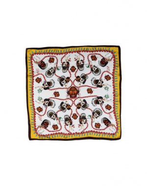 Шелковый платок Dsquared2