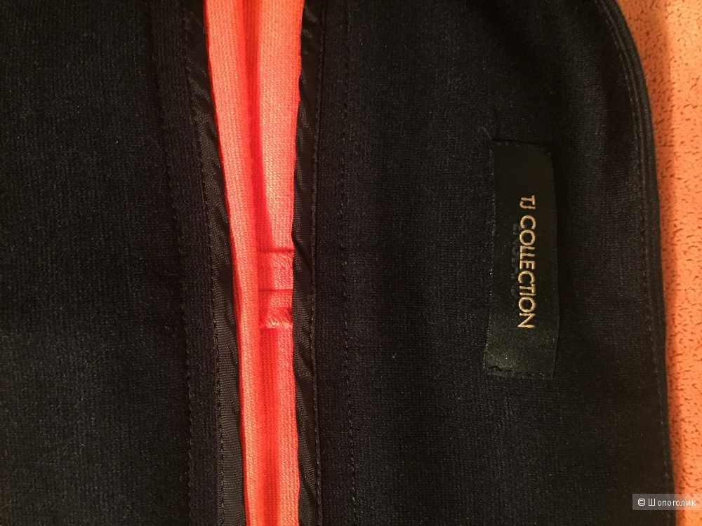 Юбка винного цвета Tj Collecton плюс подарок, размер 44-46