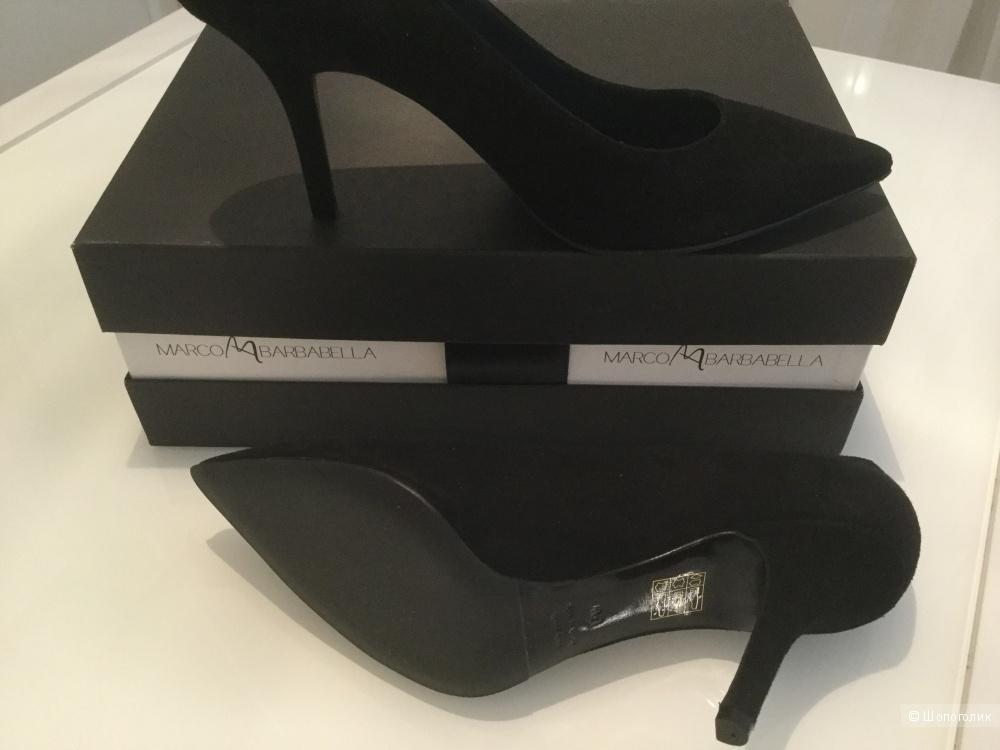 Замшевые туфли Marco Barbabella, на русский размер 38