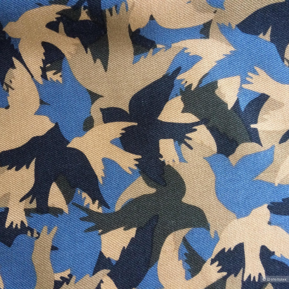Шёлковое платье с птицами N.W.3 By Hobbs