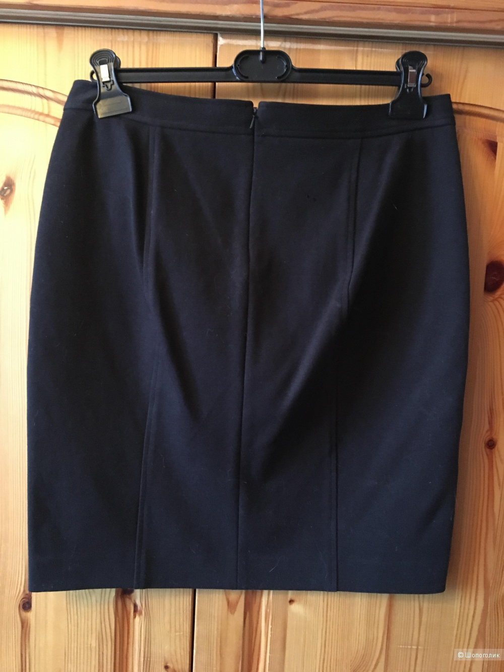 Черная трикотажная юбка-карандаш DKNY размер US10
