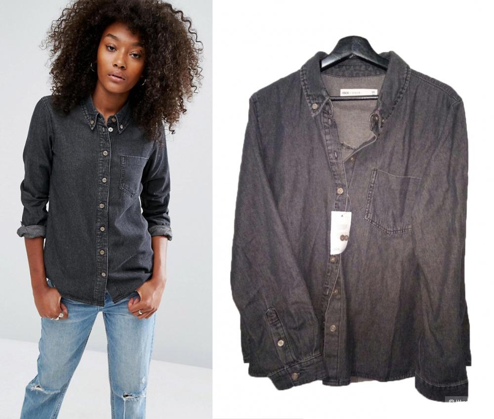 Новая с ярлыками джинсовая рубаiка Asos Denim UK 18