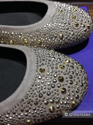 Stuart Weitzman сказочно красивые балетки из ЦУМа р.38.5-39