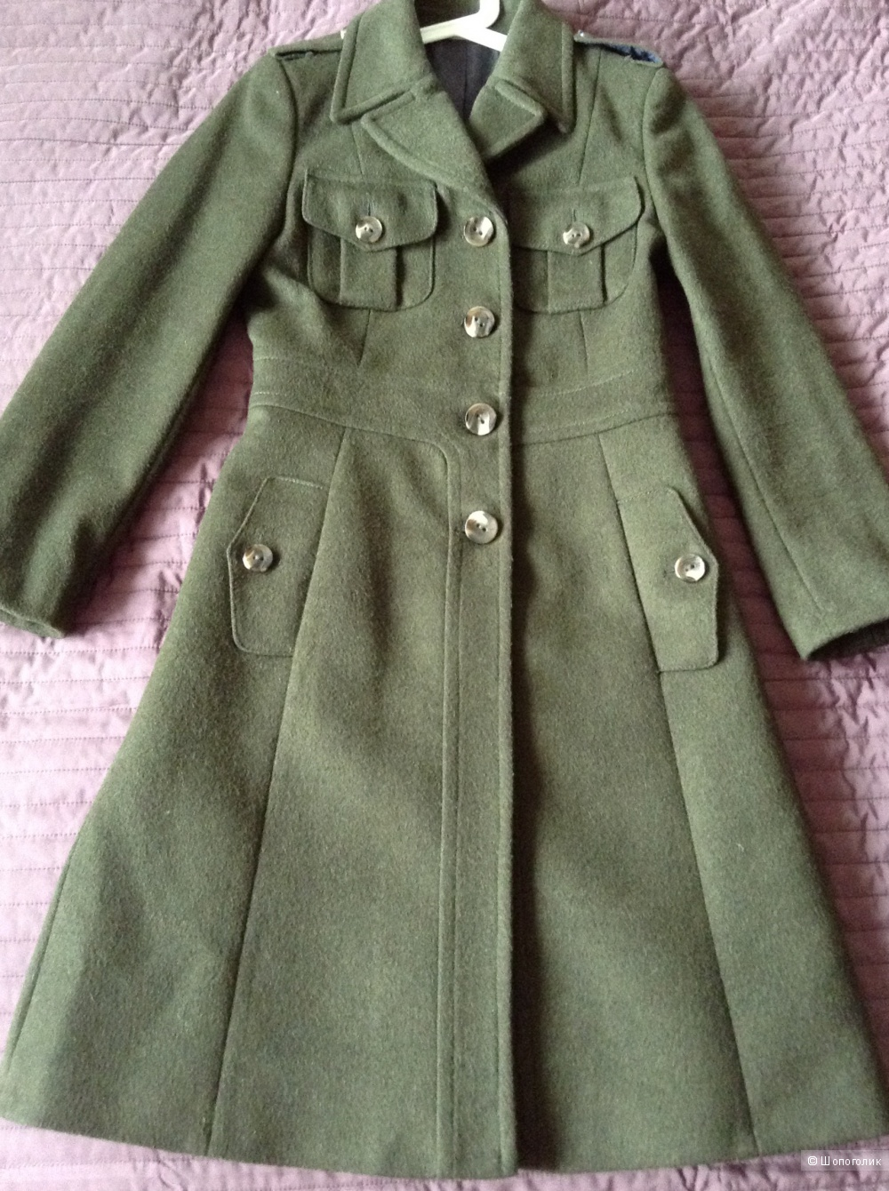 Шерстяное пальто Stefanel, it.40