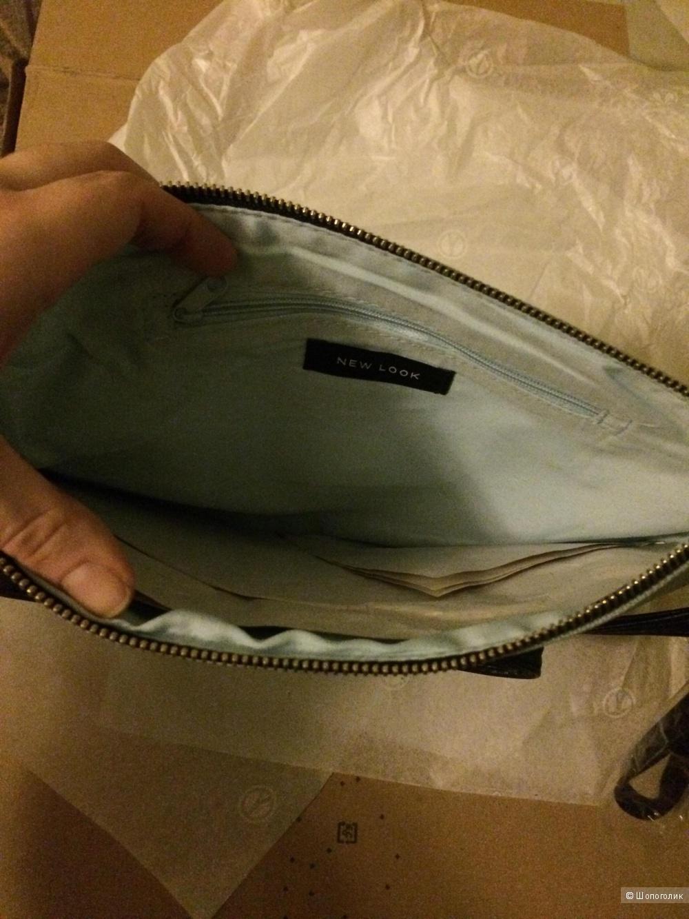 New look клатч сумка через плечо Beach