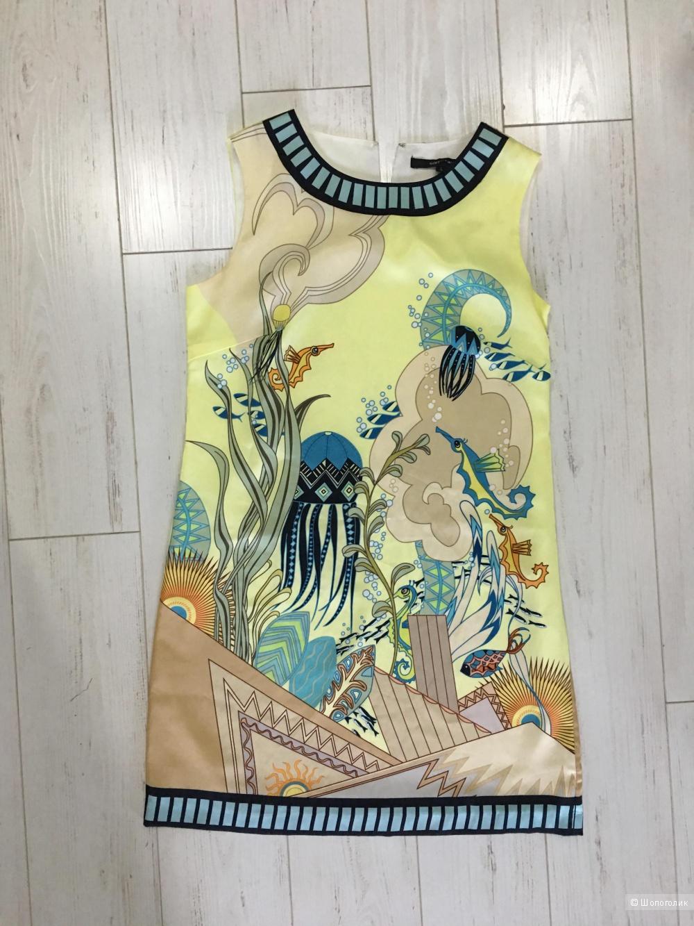 Платье натуральный шелк Givenchy реплика