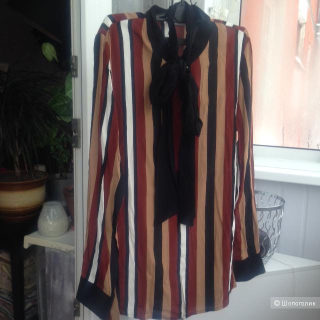 Блузка MANGO, размер S (вискоза)