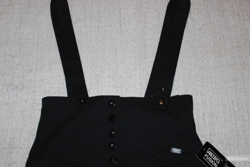 Сарафан-юбка FUSION, размер EUR 42(RUS 48), цвет черный.