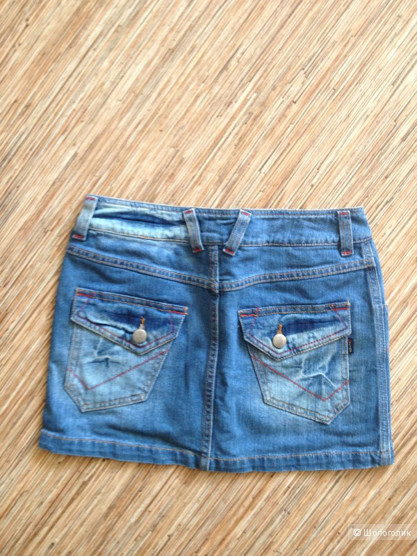 Юбка джинсовая Motley, Турция, размер 25 джинсовый, новая