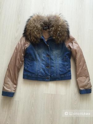 Куртка копия D&G размер 42