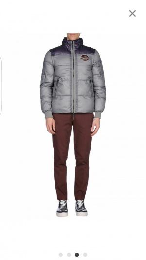 Отличная новая куртка Armani Jeans со съемными рукавами