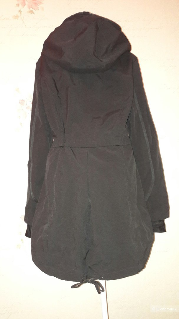 Стильная куртка парка DKNY оригинал,размер M (подойдет и на L)