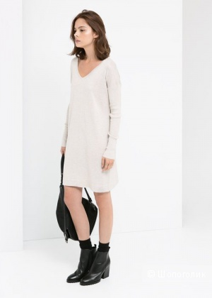 MANGO: свитер-платье свободного фасона